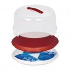 Round Cake Box with Cool Packs 350mm - CP071