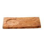 Olympia Small Rectangular Olive Wood Presentation Board