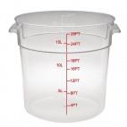 CF035 Polycarbonate Round Storage Container