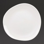 Discover Round Plates White 186mm