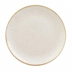 Churchill Stonecast Round Coupe Plates Barley White 295mm