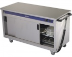 HC40MS Plain Top Mobile Hot Cupboard