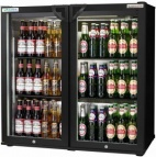 ECO CHILL ECO-DOUBLE-HG 156 Bottle Double Door Bottle Cooler