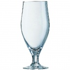 DL198 Cervoise Nucleated Stemmed Beer Glasses 320ml