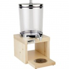 Wood Base Juice Dispenser Maple