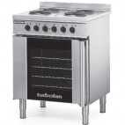 Turbofan E931M 128.6 Ltr Electric Convection Oven And 4 Element Cooktop