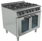Dominator Plus G3101 OTC/P 6 Burner Dual Fuel Fan-assisted Oven Range