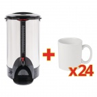 S261 8 Ltr Water Boiler and 24 Mugs