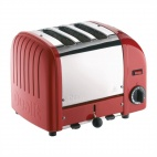 3 Slice Vario Toaster Red