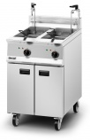Opus 800 OE8113/OP2 2 x 17 Ltr Electric Twin Tank Fryer