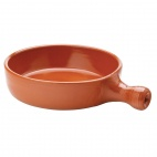 Terracotta Handled Frypan 130mm