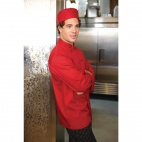 Nantes Unisex Chefs Jacket Red XS