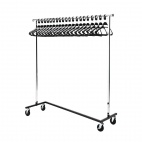 Garment Rail with 20 Hangers