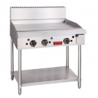 GL168-N Natural Gas 3 Burner Griddle