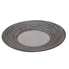 Arborescence Round Plate Black 280mm