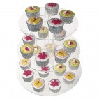 DP165 Acrylic 3 Tier Cupcake Stand