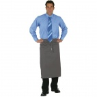 A907 Regular Bistro Apron - Charcoal