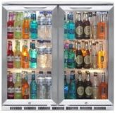 Back Bar Bottle Coolers (Double Door)