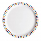CE266 Spanish Tile Dinner Plate