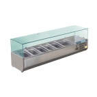 GD876 Refrigerated Counter Top Prep/Servery