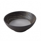 Arborescence Round Coupe Plate Black 140mm