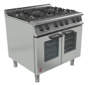Dominator Plus G3106/P 6 Burner Open Top Fan-assisted Propane Gas Oven Range