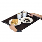 Foldable Tray Grey and Black Small