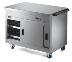 P8P3 Hot Cupboard With Plain Top
