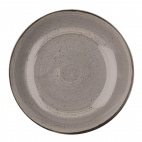 Churchill Stonecast Round Coupe Bowls Peppercorn Grey 315mm