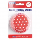Cupcake Baking Cases Polka Dot