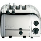 CD342 2+1 Combi Vario Toaster Polished