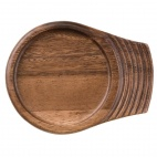 CD141 Churchill Single Handled Small Wooden Tray