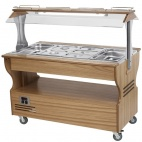 SB40C Heated Central Salad/Buffet Bar