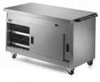 P8P4PT Pass-through Hot Cupboard With Plain Top