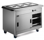 P8B3PT Pass-through Hot Cupboard With Bain Marie Top