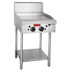 GL167-P Propane Gas Freestanding 2 Burner Griddle