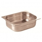PERF1/2 100 Stainless Steel 1/2 Perforated Gastronorm Pan 100mm