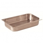 PERF1/1 100 Stainless Steel 1/1 Perforated Gastronorm Pan 100mm