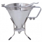 DN906 Stainless Steel Automatic Piston Funnel