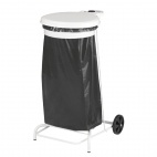 CE008 Collecroule White Mobile Sack Trolley