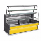 Rivo RIVO100-YELLOW Patisserie Serve Over Counter