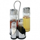 CF297 Complete Cruet Set and Stand