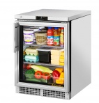 TUC-24G-HC~FGD01 158 Ltr Hydrocarbon Glass Door Display Fridge