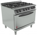 Dominator Plus G3101D/N 6 Burner Natural Gas Oven Range