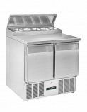 BCC2EN-ECO Refrigerated Pizza / Salad Prep Counter