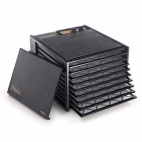 Black Excalibur 9 Tray Dehydrator with Timer