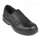 A845-36 Lites Safety Slip On Black