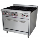HCSS36-N 6 Burner Natural Gas Oven Range