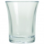 CB870 Polystyrene Shot Glasses 25ml