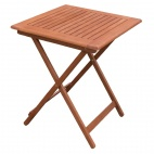 600mm Square Wooden Folding Table